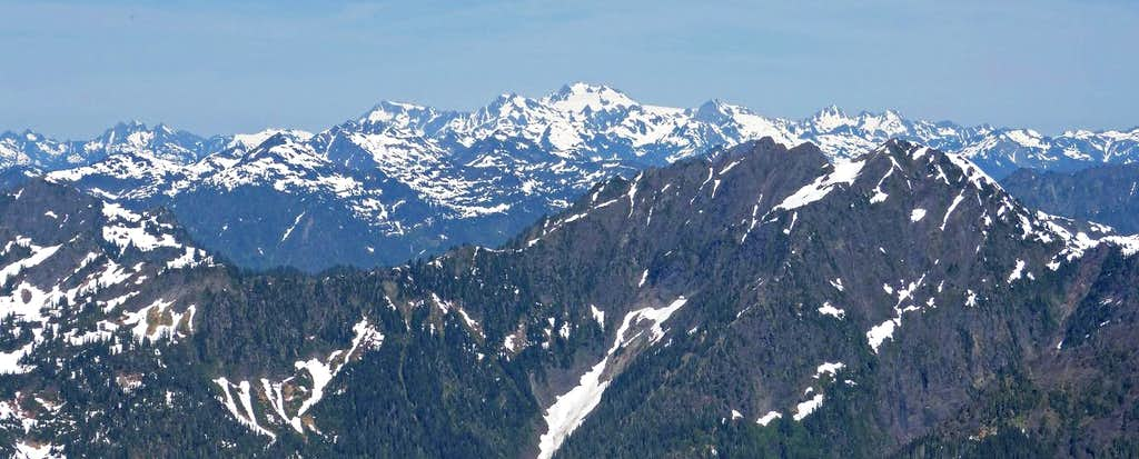 Olympus from Skokomish