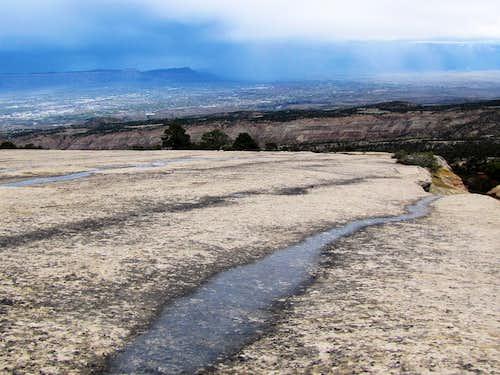 Grand Junction and slickrock slope
