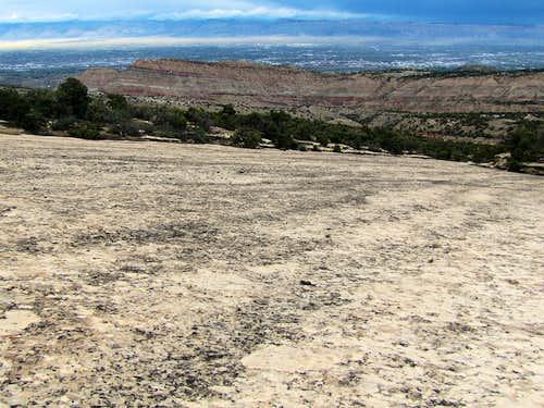 Slickrock slope