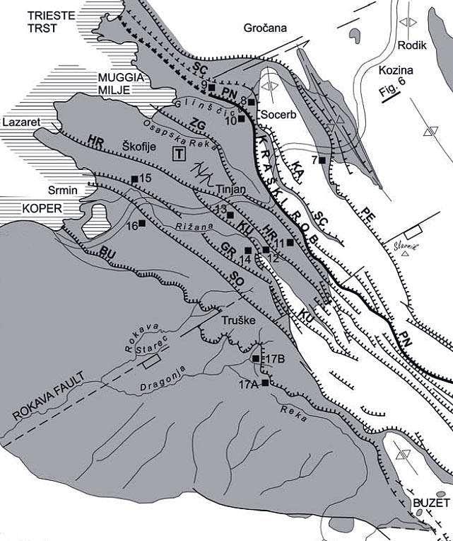Istria geology