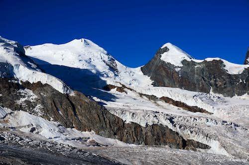 Castor (13864 ft / 4226 m) & Pollux (13425 ft / 4092m)