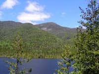 Algonquin from Mt Colden Trail