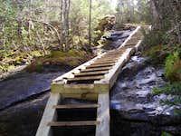 Stairway to Mt Colden