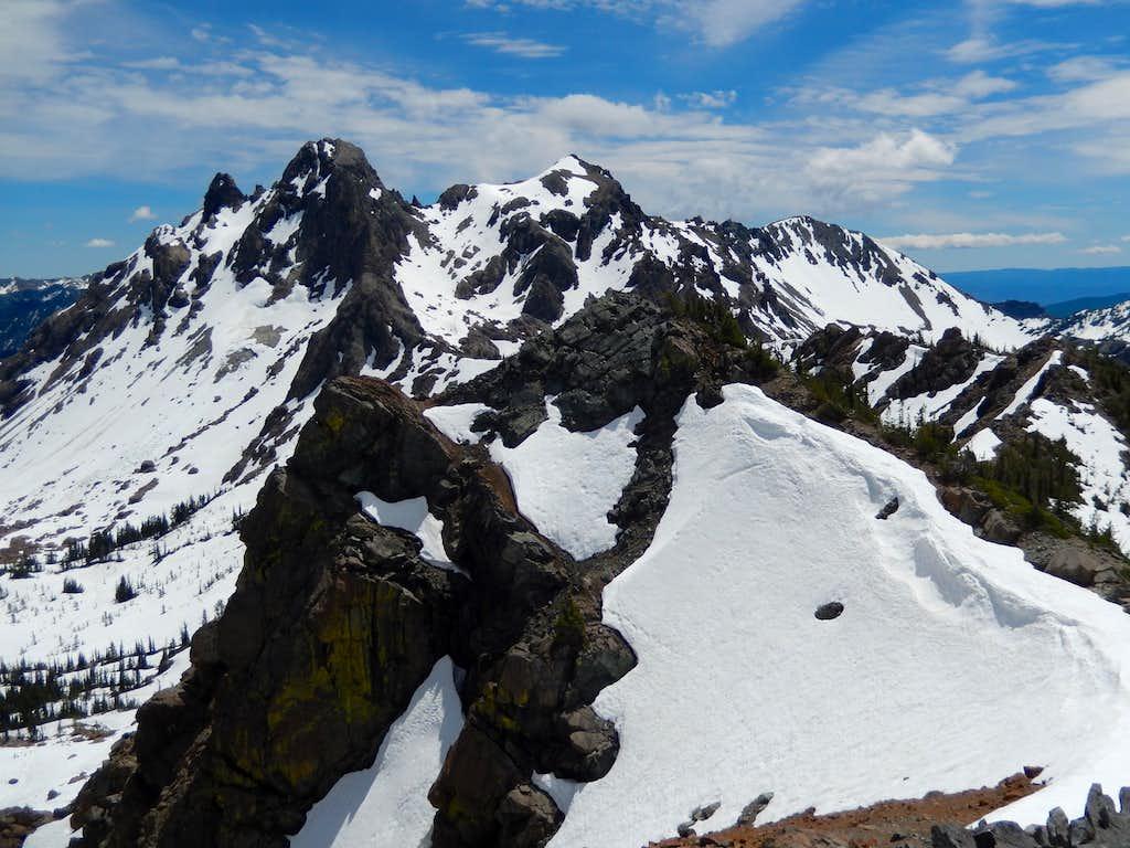 Ingalls Peaks from Van Epps Peak