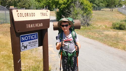 Colorado Trail Segments 1 & 2