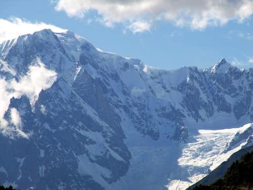 Windy Mont Blanc & Cloudy Mont Maudit by SE 2016