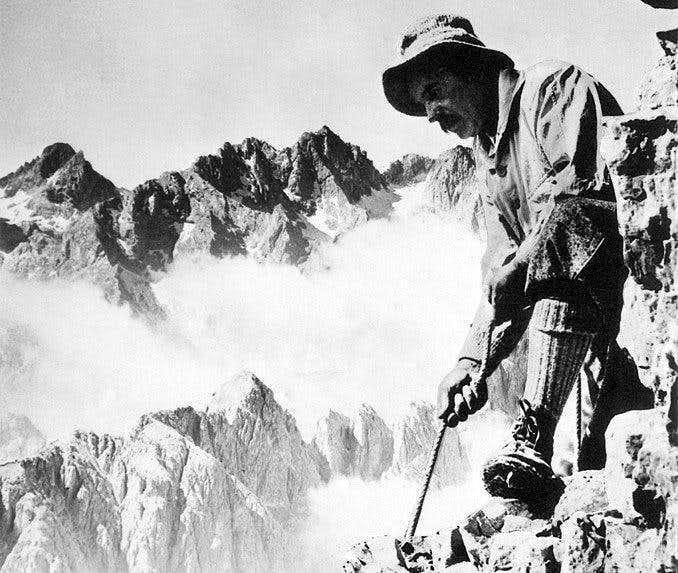 Alpine Guide Angelo Dibona (Cortina d'Ampezzo 1879-1956)