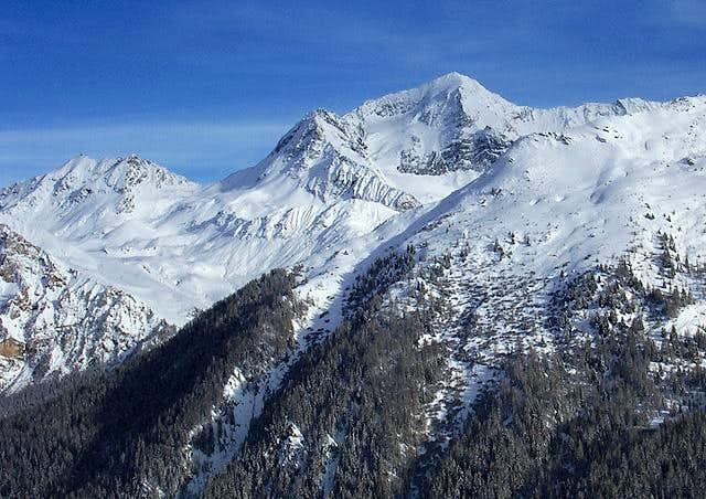 Mont Pourri seen from La...