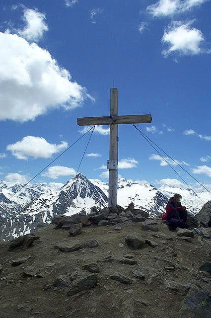 Summit cross of the Wildes...