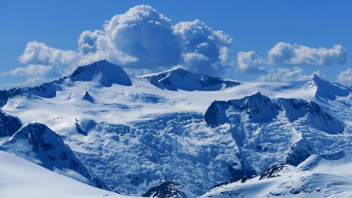 Views from Taiya Peak : Photos, Diagrams & Topos : SummitPost