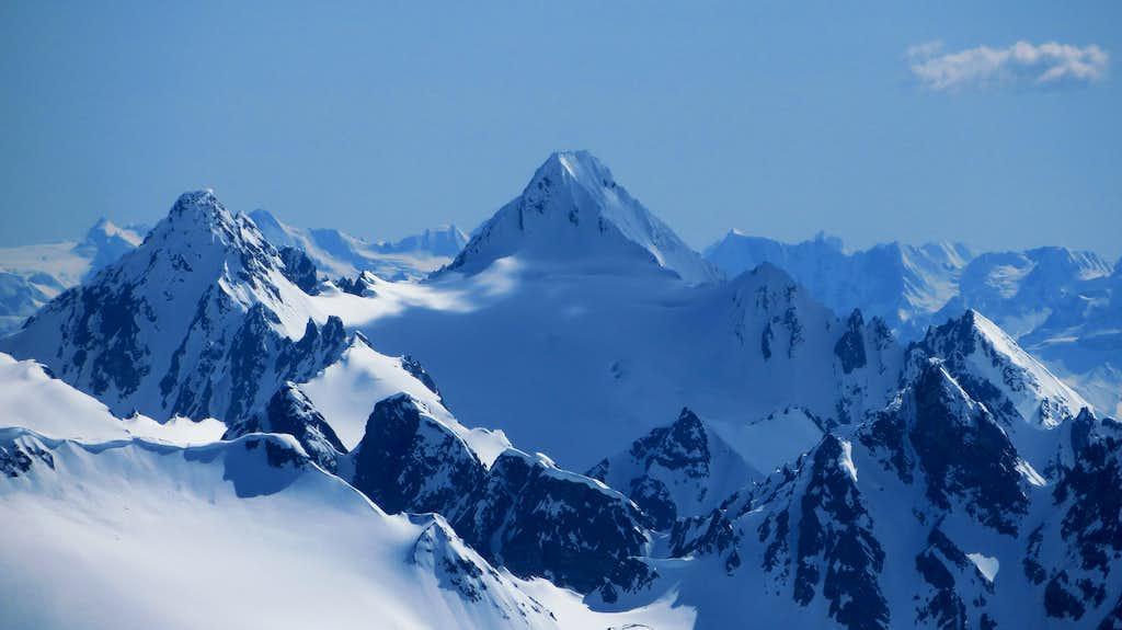 Mount Carmack from Taiya Peak