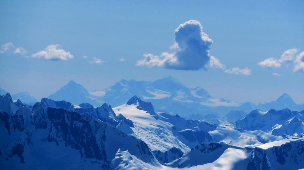 Mount Logan from Taiya Peak