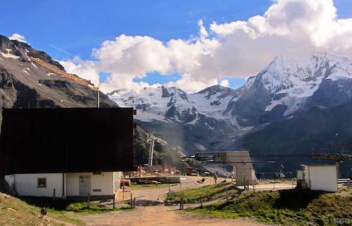 Kanzel lift summit station