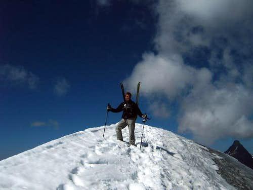 Summit of the Grande Motte,...