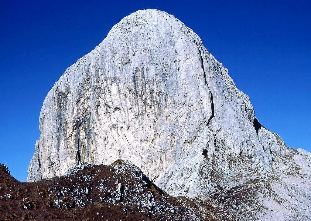 The summit 'nugget' of Kopica