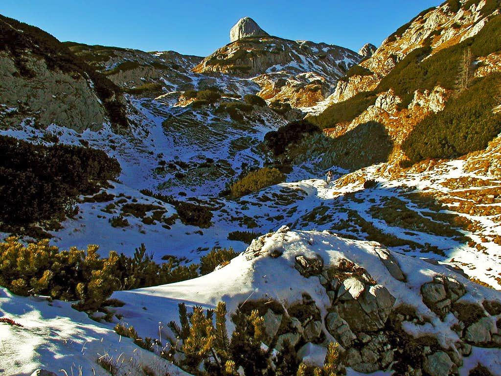 In the valley Za Kopico.