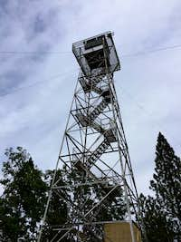 Bloomer Hill lookout tower
