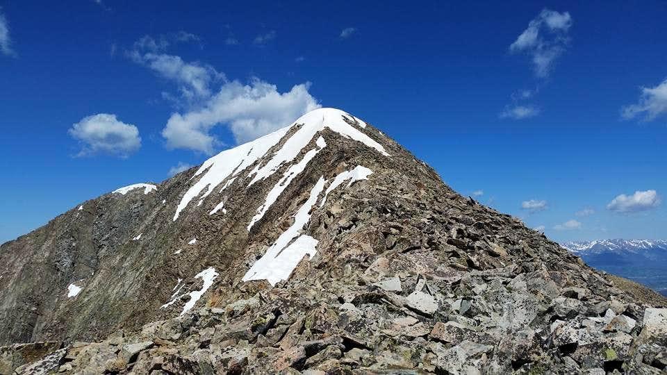 Mount Guyot Summit