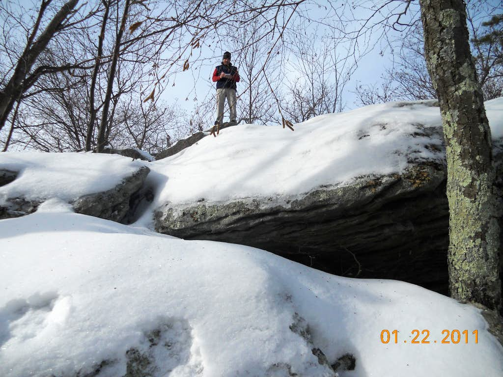 Winter Ascent of Buzzard Peak