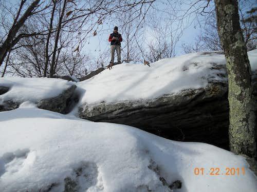Winter Ascent of Buzzard Peak