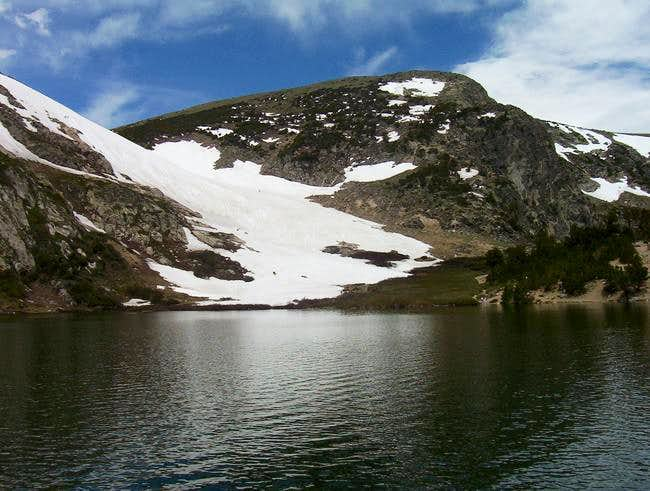 St. Mary's glacier seen from...