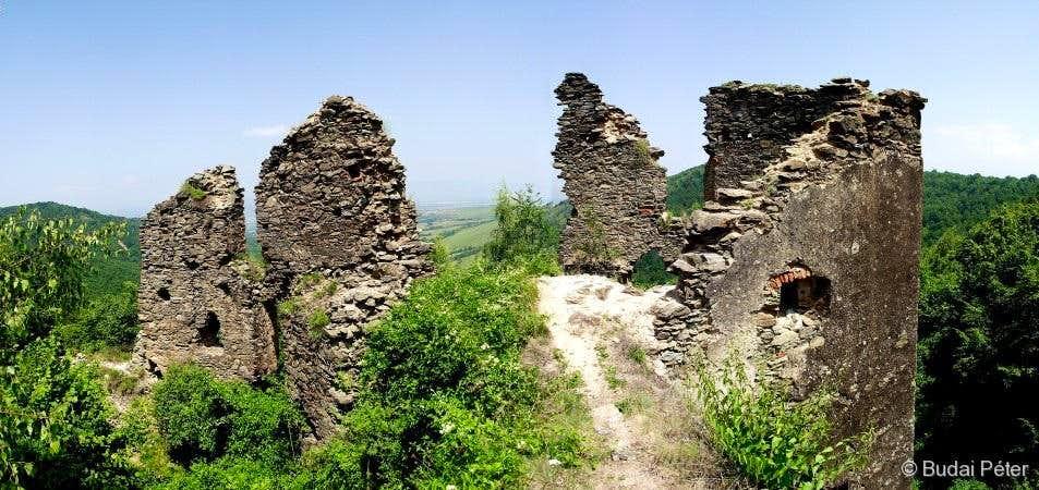 Ruins of Colţ / Kolc castle
