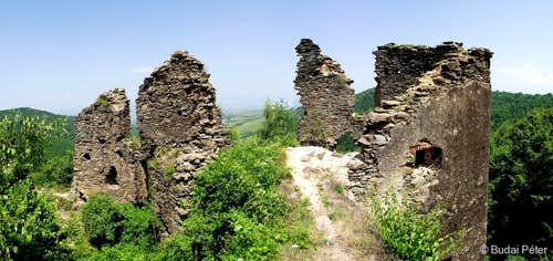 Ruins of Colţ / Kolc castle