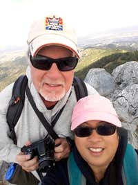 Fremont Peak Summit Selfie