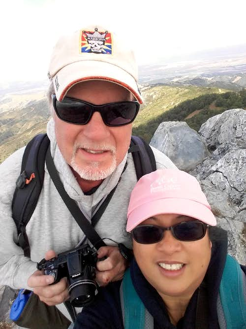 Fremont Peak Summit Selfie