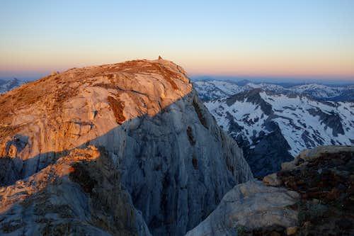 Sunrise from the Matterhorn