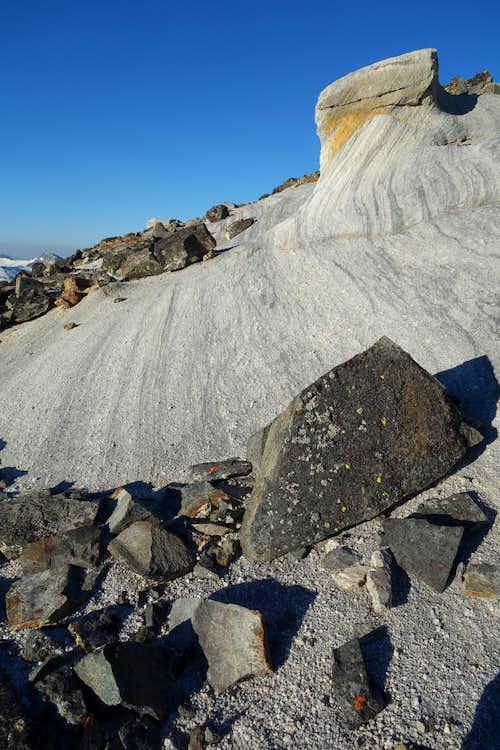 Rock Formation on the Matterhorn