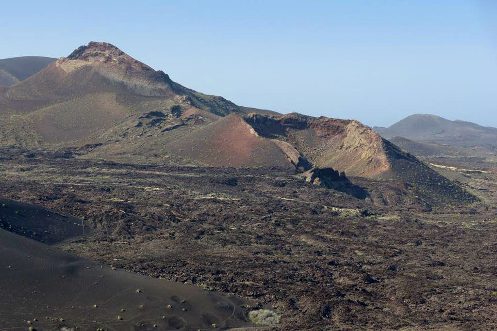 Pico Partido and its east crater