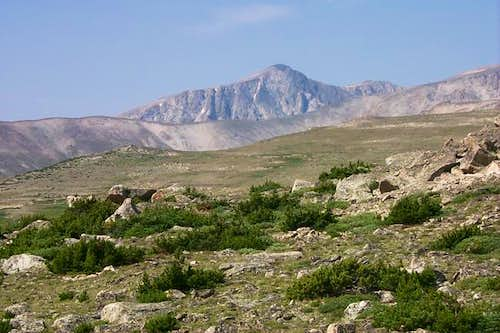 Pyramid Mountain from the...