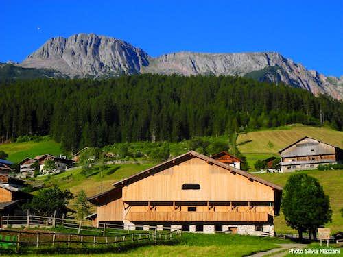 Sarner Scharte seen from Val Sarentino