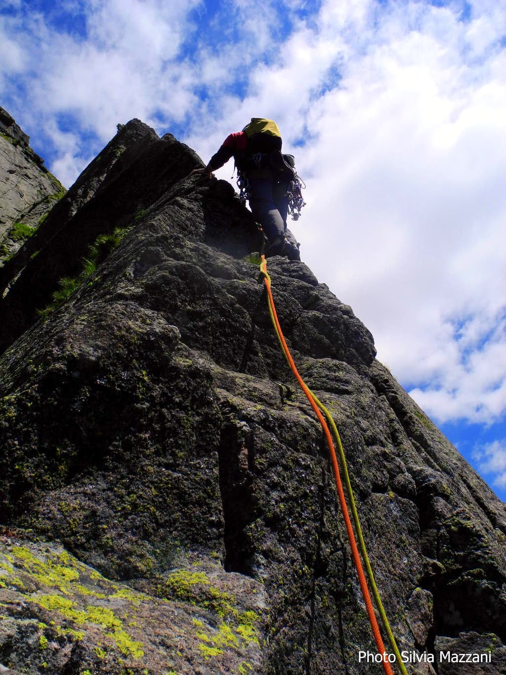 Holzerkante crux pitch