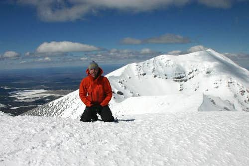 Summit of Agassiz Peak. March...
