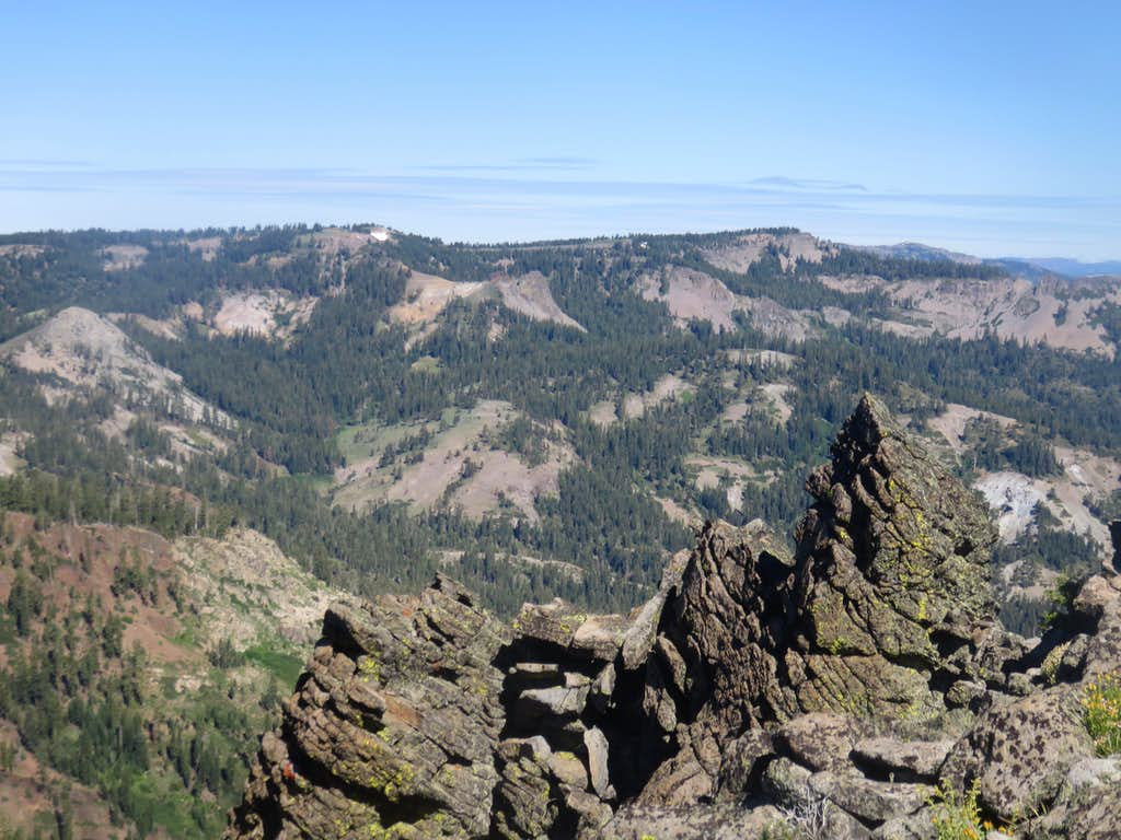 Barker Ridge from near Ellis Peak