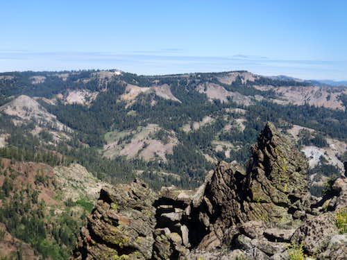 Barker Ridge from near Ellis Peak