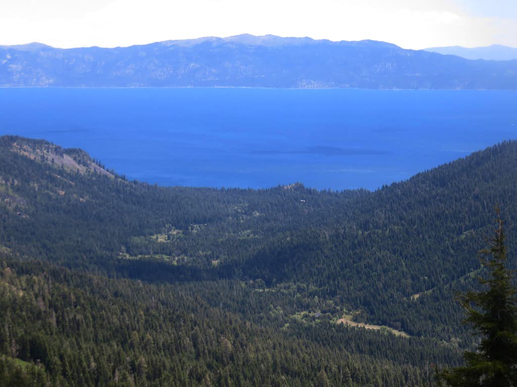 Lake Tahoe from the Barker Ridge