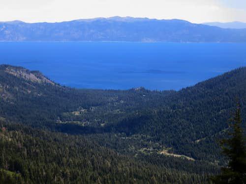 Lake Tahoe from the Barker Ridge