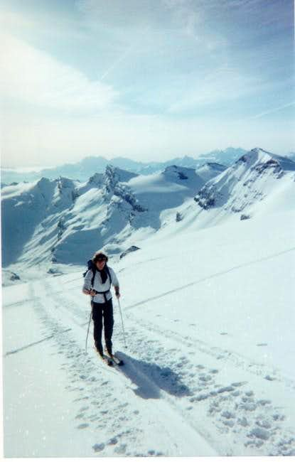 Near to the summit (March 2002)