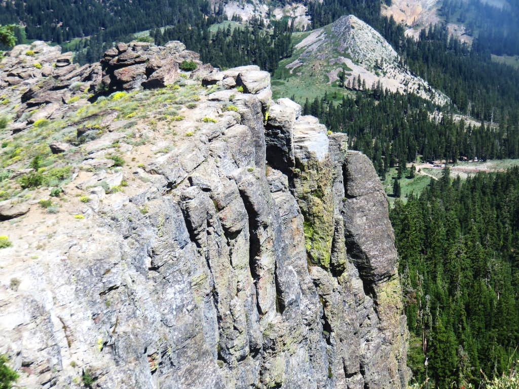 Barker Peak from the Ellis Peak Trail