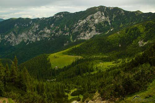 Piule-Plesa ridge