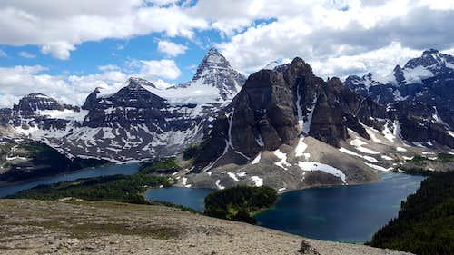 The Nub peak, Assiniboine