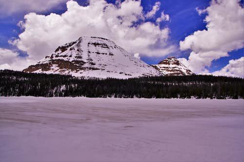 Bald Mountain and Reids Peak