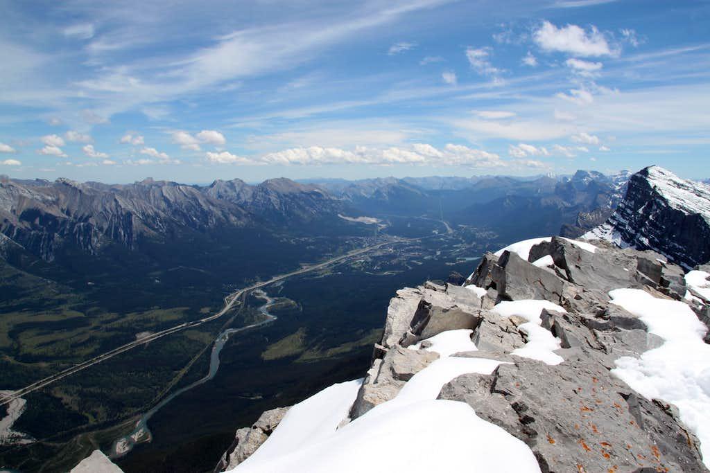 Mt. Rundle Summit