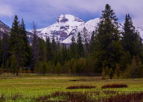 Ostler Peak From Christmas Meadows