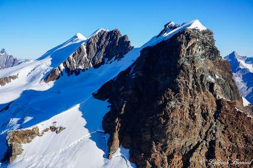 The 5 Breithorn Summits