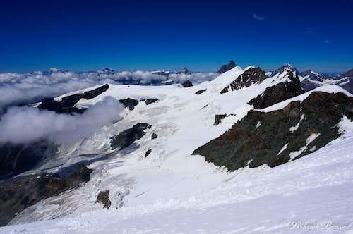 Breithorn Chain with Matterhorn