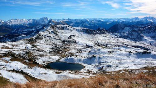 Splendid Sünser Spitze Summit View